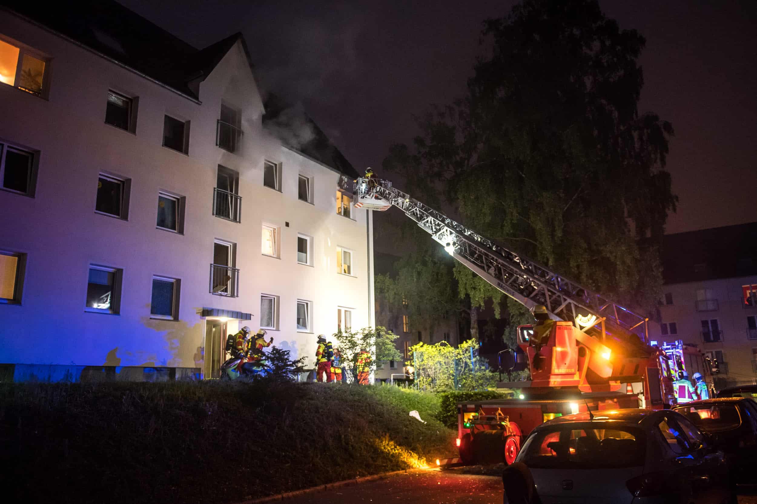 Explosion Flensburg
